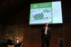 President Maurer Announces New Sports Complex