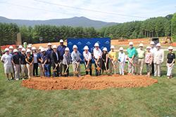 Groundbreaking Ceremony for new Montreat College Athletic Complex