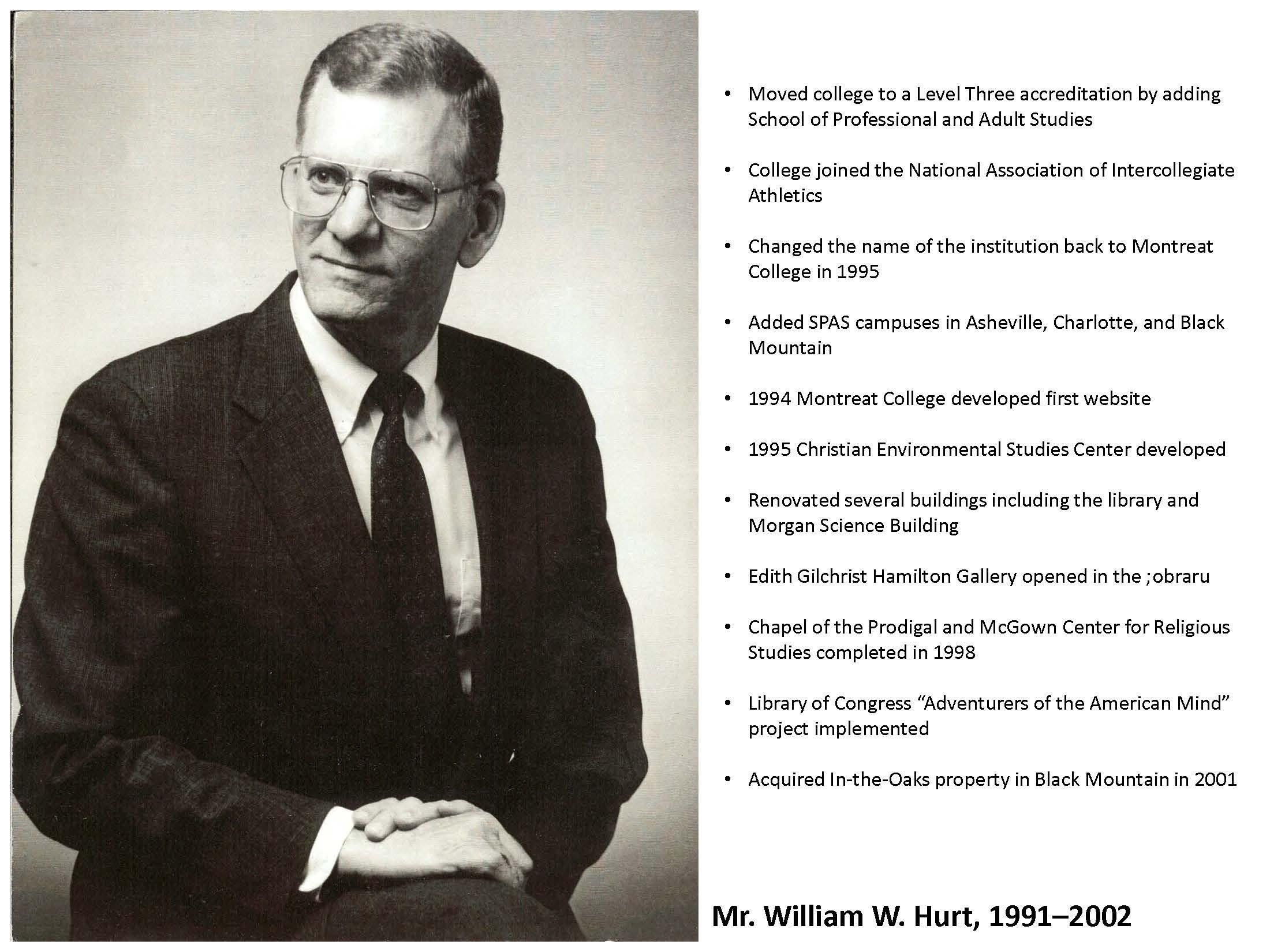 Mr. William W. Hurt
