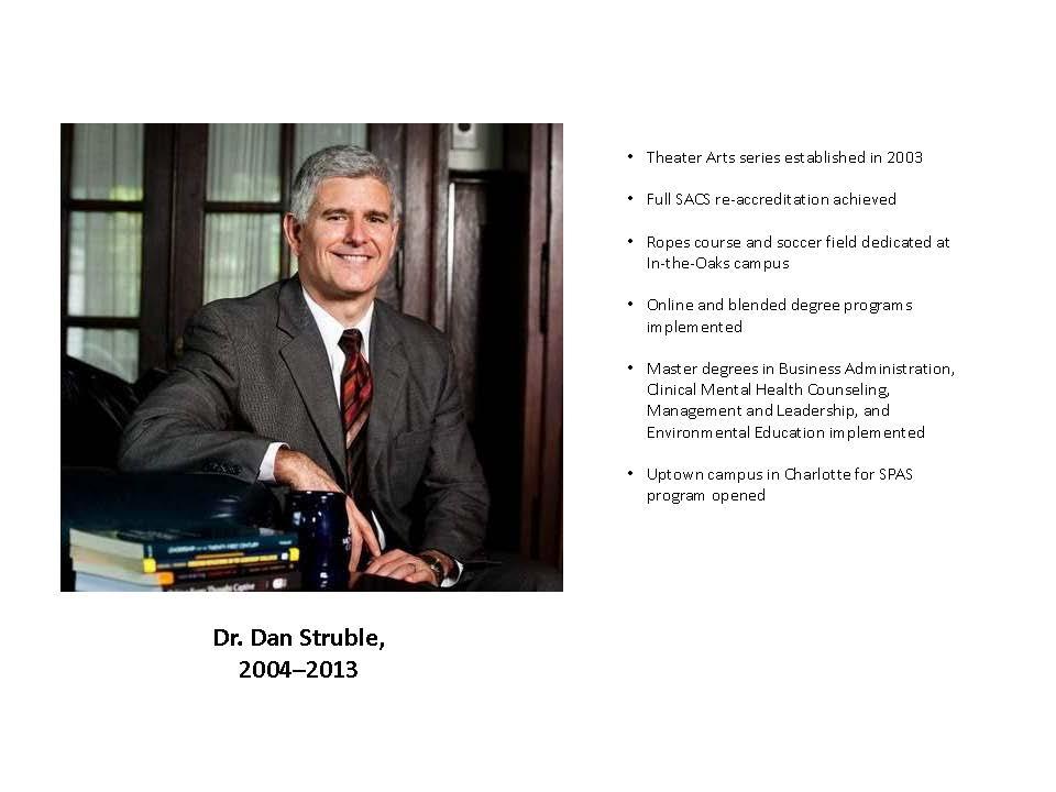 Dr. Dan Struble