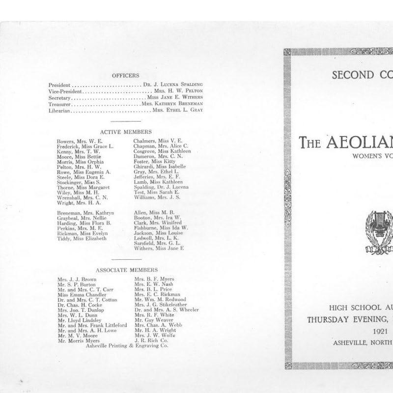 Aeolian choir programs