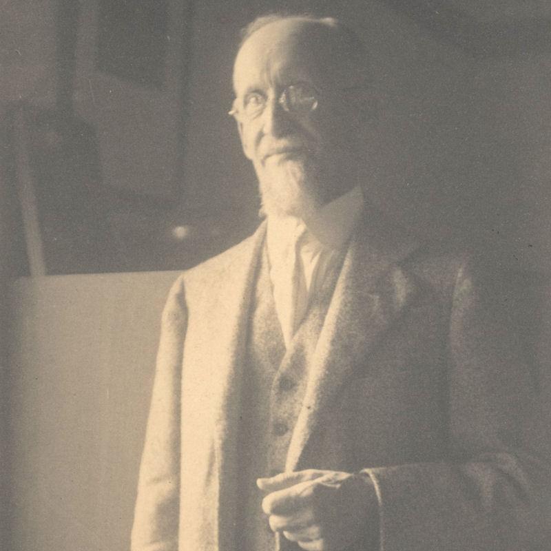 Photograph of Mr Crosby Adams