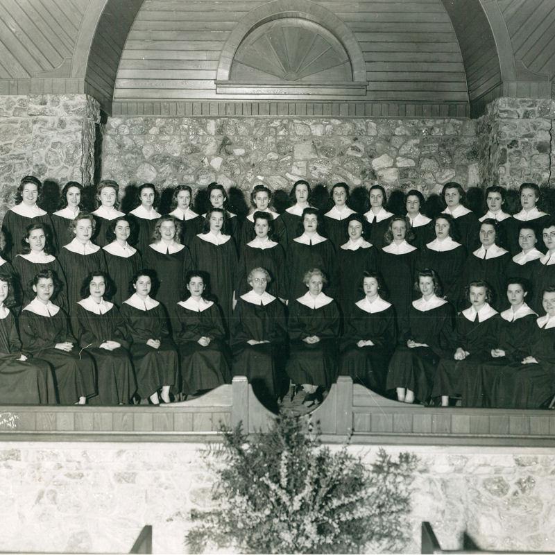 Montreat College Choir 1945