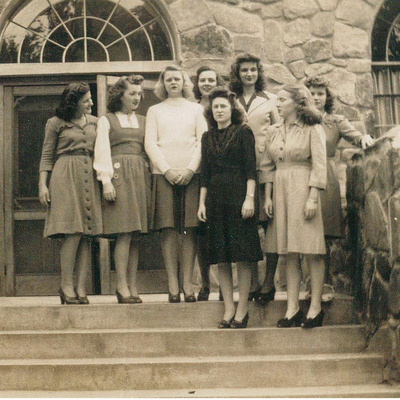 Montreat College students, 1944