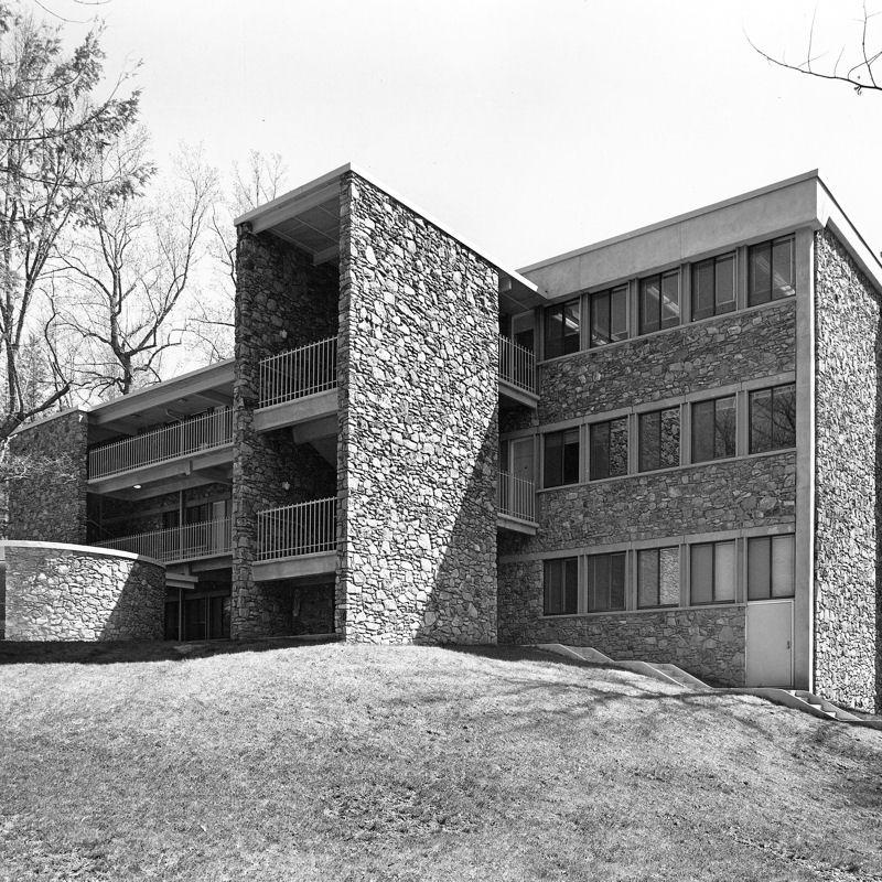 Exterior of Morgan Science Building
