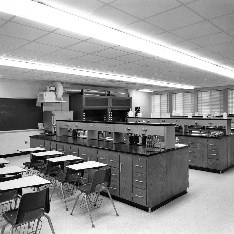 Interior of Morgan Science Building