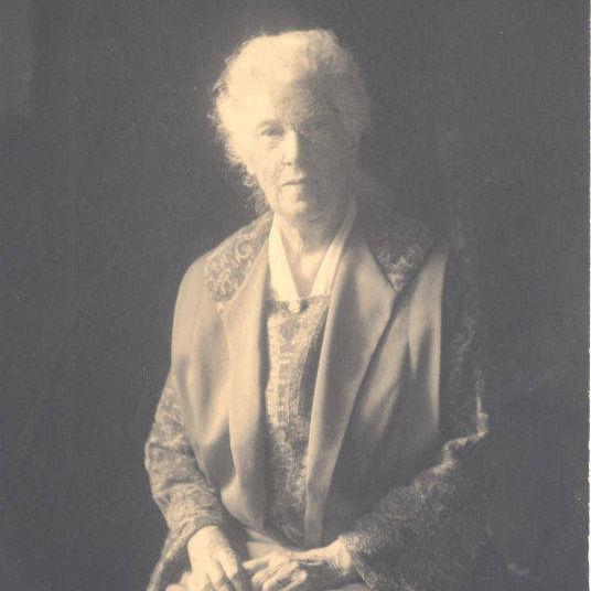 Photograph of Mrs. Crosby Adams