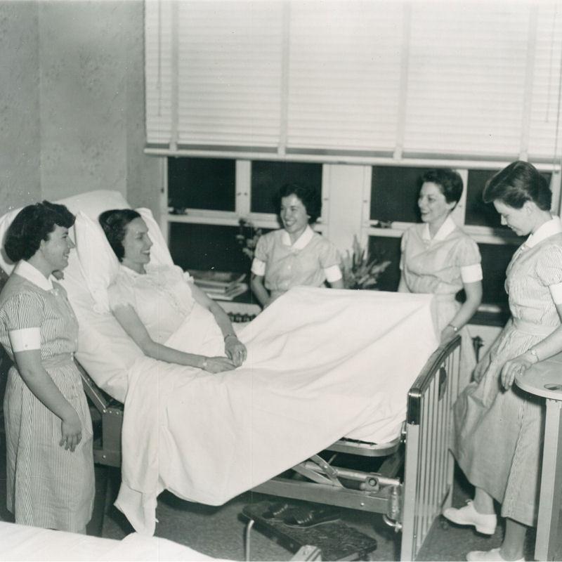 Student Nurses 1957