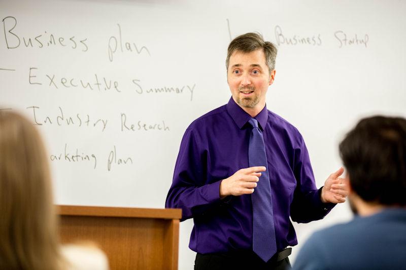 Paul Gratton teaching