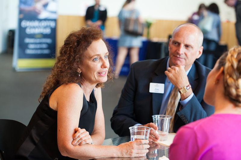 Myra Rowell with Jim Paden