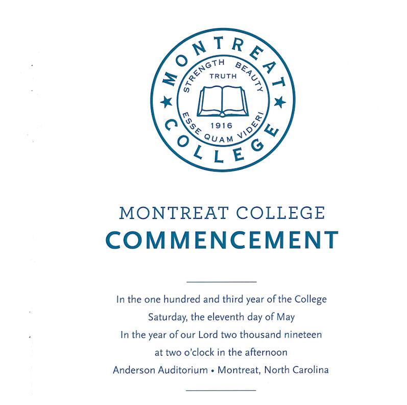 May 2019 Commencement Program thumbnail