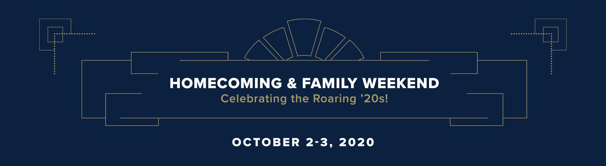 Homecoming 2020 Banner