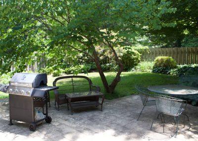 Backyard - Anderson House