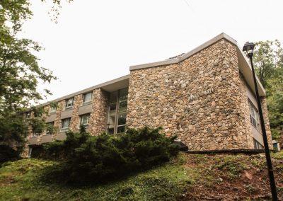 Exterior of Davis Hall