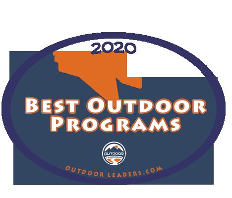 2020 Best Outdoor Programs badge
