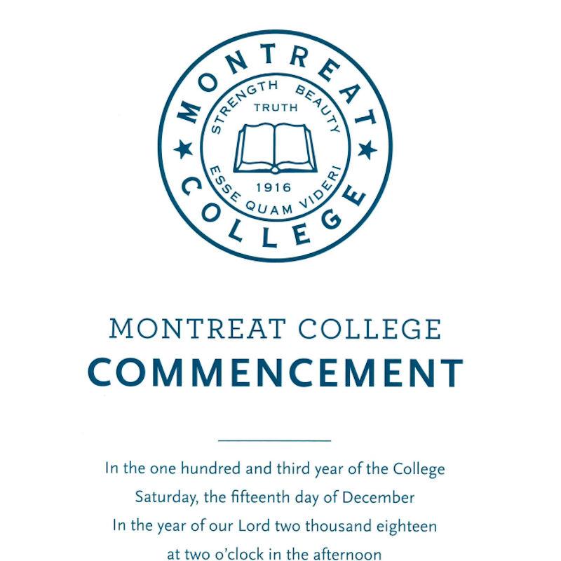 2018 Commencement Program thumbnail